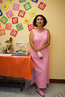 Mexico City, Mexico. June 8, 2007.  Children´s section of Santa Martha Acatitla, Mexico City's high security women's prison. Women who are pregnant when arrested or who become pregnant when at the prison live with their children who are educated and fed in a seperate wing.  The children have to leave when they reach the age of six.