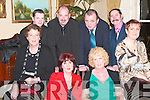 SOCIAL: Enjoying the Listowel Community Hospital Annual Social in The Arms Hotel on Saturday were front l-r: Mary O'Sullivan, Catherina McElligott, Eileen Sheehan and Jackie Halpin. Back l-r: Joseph McGary, Jimmy Sheehan, John Halpin and Donal Kennedy.   Copyright Kerry's Eye 2008