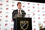 ATLANTA, GA - DECEMBER 05: ESPN Deportes presenter Sebastian Salazar. The 2018 MLS MVP Presentation was held on December 5, 2018 at the Arthur Blank Family Center in Atlanta, GA.
