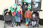 The Clerkin and Daley Cousins at the 2011 St.Patrick's Day Parade in Dunleer...(Photo credit should read Jenny Matthews/www.newsfile.ie)....This Picture has been sent you under the conditions enclosed by:.Newsfile Ltd..The Studio,.Millmount Abbey,.Drogheda,.Co Meath..Ireland..Tel: +353(0)41-9871240.Fax: +353(0)41-9871260.GSM: +353(0)86-2500958.email: pictures@newsfile.ie.www.newsfile.ie.