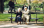 aging, aging gracefully, Paris, Park Bench Series, park bench, France, people, Parisians, love, life in Paris, street scenes, affection,  natural light, amour, hotel decor, corporate decor, communication, companionship, couple