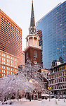 The Old South Meeting House, Boston National Historical Park, Boston, Massachusetts, USA