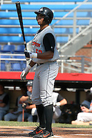 July 31, 2005:  Outfielder Bobby Andrews of the Aberdeen Ironbirds during a game at Russell Diethrick Park in Jamestown, NY.  Aberdeen is the Short Season Single-A NY-Penn League affiliate of the Baltimore Orioles.  Photo By Mike Janes/Four Seam Images