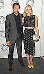 Demian Bichir and Diane Kruger arriving at The Bridge: Season Two Premiere Screening' held at The Paley Center for Media Beverly Hills, CA. June 24, 2014.