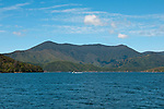 New Zealand, South Island: Scenic photo near town of Picton on Marlborough Sounds. Photo copyright Lee Foster. Photo # newzealand125422