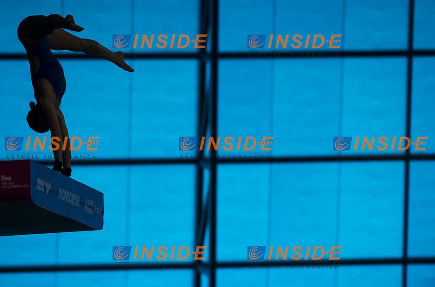 MARINO Laura FRA<br /> London, Queen Elizabeth II Olympic Park Pool <br /> LEN 2016 European Aquatics Elite Championships <br /> Diving<br /> Women's 10m platform preliminary <br /> Day 05 13-05-2016<br /> Photo Giorgio Perottino/Deepbluemedia/Insidefoto
