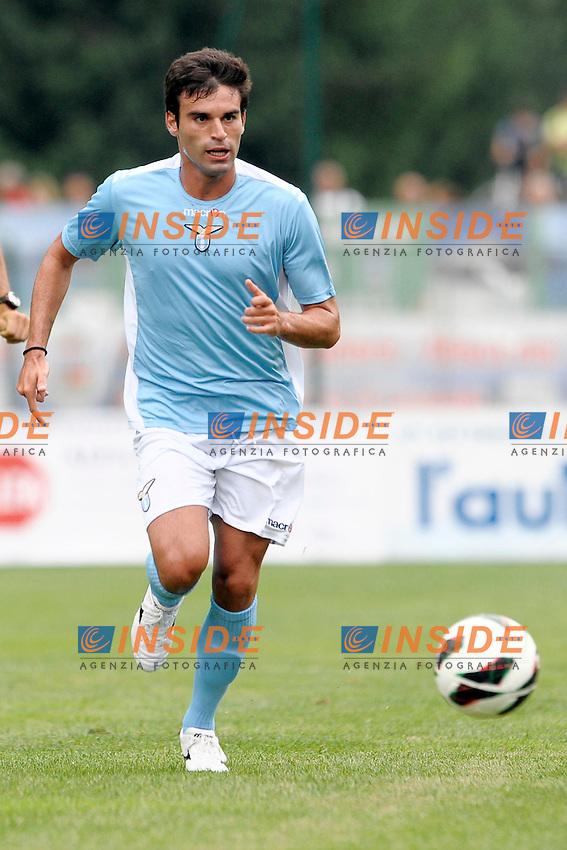 Javier Garrido Lazio.Auronzo di Cadore 20/7/2012.Football Calcio 2012 / 2013 .Amichevole Friendly Match.SS Lazio Vs Top 11 Calcio Club 103.Foto Insidefoto.