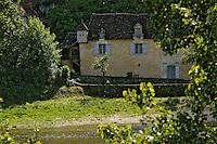 Europe/France/Aquitaine/24/Dordogne/Vallée de la Dordogne/Périgord Noir/Castelnaud-La-Chapelle: Maison périgourdine