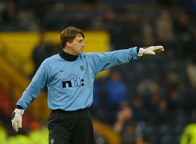 Stefan Klos, Rangers
