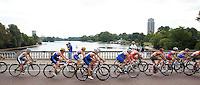 15 AUG 2009 - LONDON, GBR - ITU World Championship Series Womens Triathlon (PHOTO (C) NIGEL FARROW)