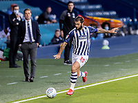 West Bromwich Albion's Charlie Austin breaks <br /> <br /> Photographer Andrew Kearns/CameraSport<br /> <br /> The EFL Sky Bet Championship - West Bromwich Albion v Fulham - Tuesday July 14th 2020 - The Hawthorns - West Bromwich <br /> <br /> World Copyright © 2020 CameraSport. All rights reserved. 43 Linden Ave. Countesthorpe. Leicester. England. LE8 5PG - Tel: +44 (0) 116 277 4147 - admin@camerasport.com - www.camerasport.com