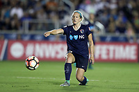 Cary, North Carolina  - Saturday June 17, 2017: Kristen Hamilton during a regular season National Women's Soccer League (NWSL) match between the North Carolina Courage and the Boston Breakers at Sahlen's Stadium at WakeMed Soccer Park. The Courage won the game 3-1.