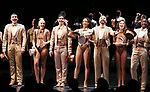 """Tony Yazbeck and Cast during Curtain Call for the New York City Center Celebrates 75 Years with a Gala Performance of """"A Chorus Line"""" at the City Center on November 14, 2018 in New York City."""