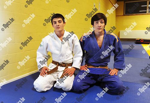 2015-03-02 / Judo / seizoen 2014-2015 / De broers Adashev<br /><br />Foto: Mpics.be