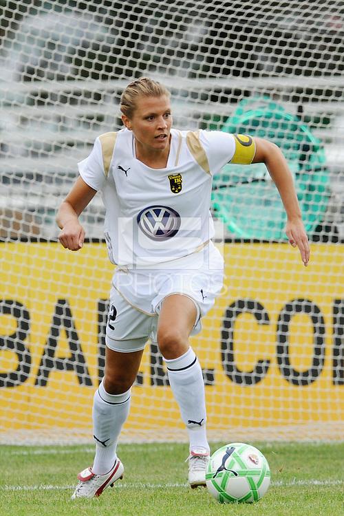 Karolina Westberg. WPS All Stars defeated Umea IK 4-2 at Anheuser Busch Soccer Park, Fenton, MO.