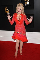 LOS ANGELES, CA - FEBRUARY 10: Dolly Parton at the 61st Annual Grammy Awards at the Staples Center in Los Angeles, California on February 10, 2019. <br /> CAP/MPIFS<br /> &copy;MPIFS/Capital Pictures