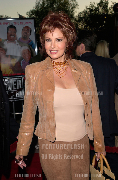 Actress RAQUEL WELCH at the world premiere, at the Universal Amphitheatre Hollywood, of Nutty Professor II: The Klumps.