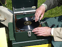 Retro Record Player, Wind up record player,DJ Wynder, Antique Record Player, Where as they been,