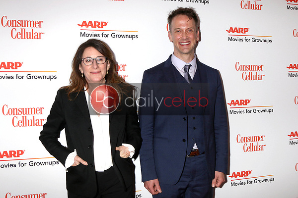 Nicole Holofcener, Jeff Whitty<br /> at the AARP Movies for Growups Awards, Beverly Wilshire Hotel, Beverly Hills, CA 02-04-19<br /> David Edwards/DailyCeleb.com 818-249-4998
