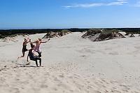 Denmark, Jutland, near Skagen: Råbjerg Mile, Denmark's largest expanse of drifting sand dunes | Daenemark, Juetland, bei Skagen: Råbjerg Mile, Denmarks groesstes Wanderduenengebiet