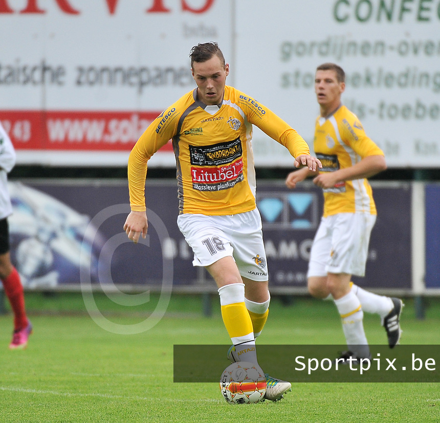 SC Wielsbeke : Brenthon Dujardin<br /> foto VDB / Bart Vandenbroucke