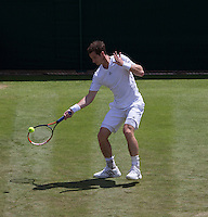 ANDY MURRAY (GBR)<br /> <br /> The Championships Wimbledon 2014 - The All England Lawn Tennis Club -  London - UK -  ATP - ITF - WTA-2014  - Grand Slam - Great Britain -  25th June 2014. <br /> <br /> &copy; AMN IMAGES