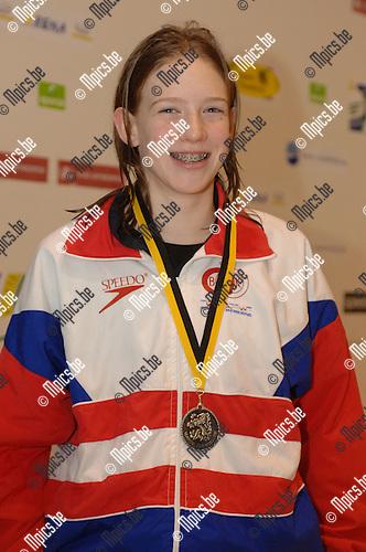 200m wisselslag meisjes '93: Heleen Van Gerwen (BZK) werd 2e