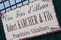 robert karcher & fils winery colmar alsace france