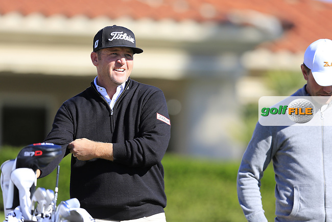 Jason Bohn (USA) on the 2nd tee during Saturday's Round 3 of the 2017 CareerBuilder Challenge held at PGA West, La Quinta, Palm Springs, California, USA.<br /> 21st January 2017.<br /> Picture: Eoin Clarke | Golffile<br /> <br /> <br /> All photos usage must carry mandatory copyright credit (&copy; Golffile | Eoin Clarke)