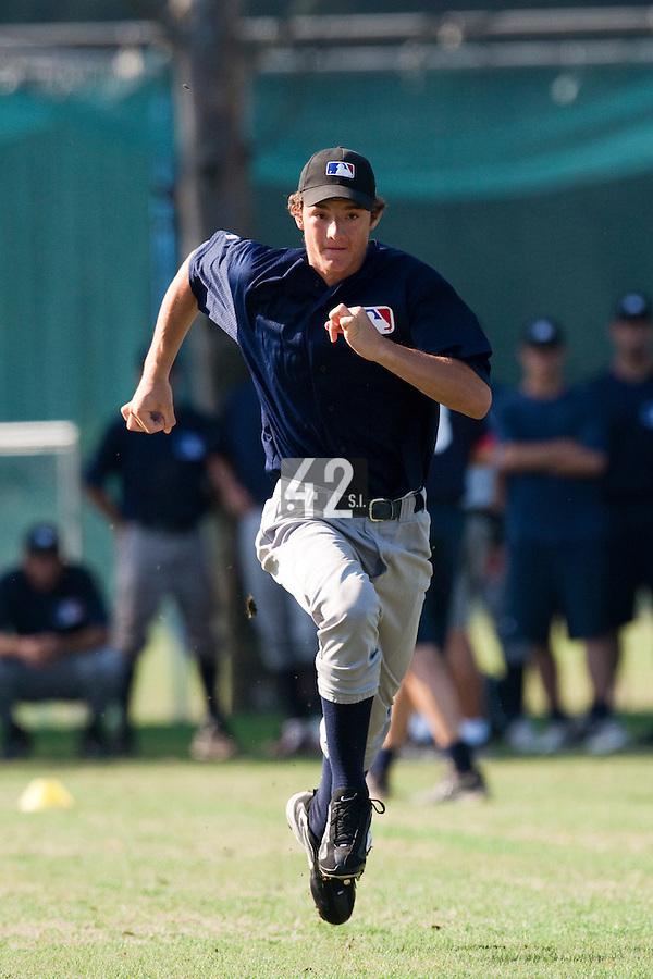 Baseball - MLB Academy - Tirrenia (Italy) - 19/08/2009 - Daniel Vavrusa (Czech Republic)