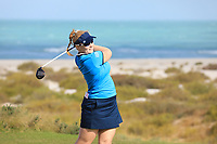 Kylie Henry (SCO) during the second round of the Fatima Bint Mubarak Ladies Open played at Saadiyat Beach Golf Club, Abu Dhabi, UAE. 11/01/2019<br /> Picture: Golffile | Phil Inglis<br /> <br /> All photo usage must carry mandatory copyright credit (© Golffile | Phil Inglis)