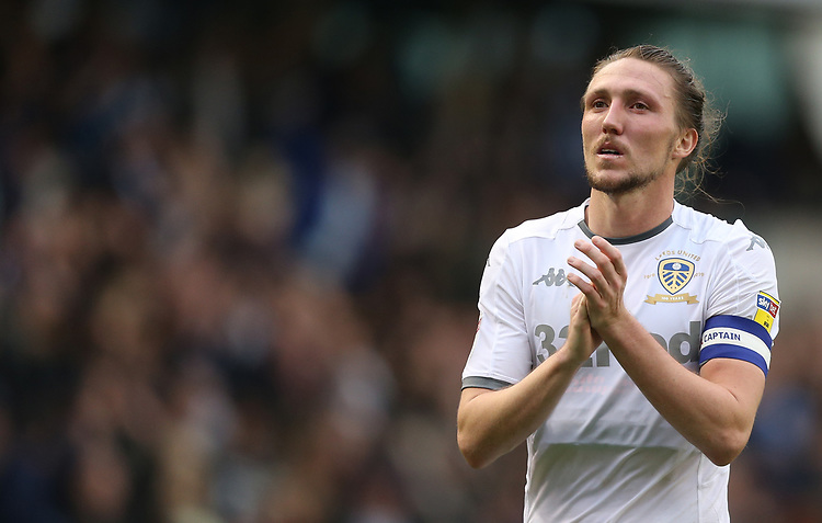 Leeds United's Luke Ayling<br /> <br /> Photographer Rob Newell/CameraSport<br /> <br /> The EFL Sky Bet Championship - Millwall v Leeds United - Saturday 5th October 2019 - The Den - London<br /> <br /> World Copyright © 2019 CameraSport. All rights reserved. 43 Linden Ave. Countesthorpe. Leicester. England. LE8 5PG - Tel: +44 (0) 116 277 4147 - admin@camerasport.com - www.camerasport.com
