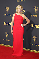 LOS ANGELES - SEP 17:  Edie Falco at the 69th Primetime Emmy Awards - Arrivals at the Microsoft Theater on September 17, 2017 in Los Angeles, CA
