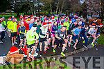At the Start of the Christmas Park Run on Saturday