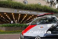SAO PAULO, SP, 15.09.2014 - Tiroteio Hospital Sirio Libanes - SP - Tiroteio deixa um médico ferido e uma pessoa morta dentro do Hospital Sirio Libanes na região central de São Paulo nesta segunda feira(15).  (Foto: Marcelo Brammer / Brazil Photo Press).