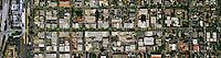 aerial photograph University Avenue, Palo Alto, California