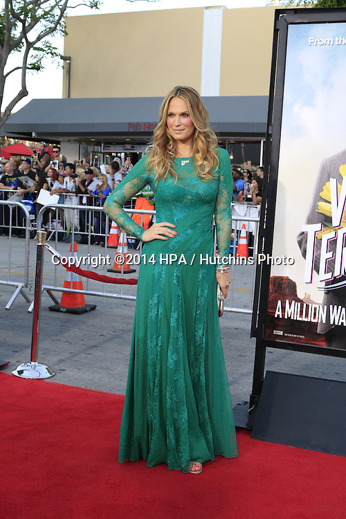 "LOS ANGELES - MAY 15:  Molly Sims at the ""A Million Ways To Die In The West"" World Premiere at Village Theater on May 15, 2014 in Westwood, CA"