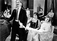 Animal Crackers (1930)<br /> Groucho Marx, Margaret Dumont &amp; Lillian Roth<br /> *Filmstill - Editorial Use Only*<br /> CAP/KFS<br /> Image supplied by Capital Pictures