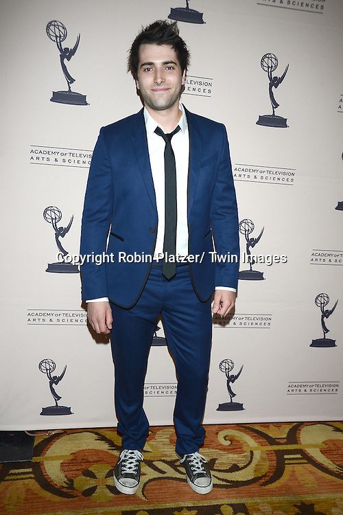 Freddie Smith attends the Academy Of Television Arts & Science Daytime Programming  Peer Group Celebration for the 40th Annual Daytime Emmy Awards Nominees party on June 13, 2013 at the Montage Beverly Hills in Beverly Hills, California.