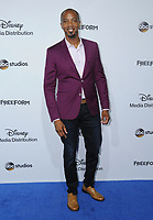 21 May 2017 - Burbank, California - J. August Richards. ABC Studios and Freeform International Upfronts held at The Walt Disney Studios Lot in Burbank. Photo Credit: Birdie Thompson/AdMedia