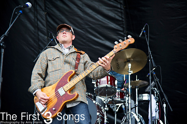 Jesse Ebaugh of Heartless Bastards performs during the The Beale Street Music Festival in Memphis, Tennessee.