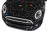 Car Stock 2016 MINI MINI Cooper-S-Fwd 2 Door Convertible Engine  high angle detail view