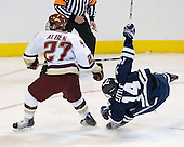 Patrick Alber (BC - 27), Broc Little (Yale - 14) - The Boston College Eagles defeated the Yale University Bulldogs 9-7 in the Northeast Regional final on Sunday, March 28, 2010, at the DCU Center in Worcester, Massachusetts.