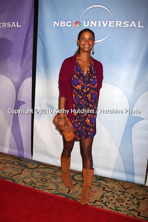 Joy Bryant.arriving at the 2010 Winter NBC TCA Party .Langford Hotel.Pasadena, CA.January 10, 2010.©2010 Kathy Hutchins / Hutchins Photo....