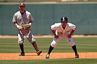SAN ANTONIO, TX - MAY 2, 2010: The Texas State University Bobcats vs. the University of Texas at San Antonio Roadrunners Baseball at Roadrunner Field. (Photo by Jeff Huehn)