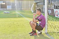 PIRACICABA,SP, 28.07.2016 - FUTEBOL-XV. O jogador Cunha durante treino do XV de Piracicaba no Estádio Barão da Serra Negra, em Piracicaba, interior de São Paulo, nesta sexta-feira, 28.  ( Foto: Mauricio Bento/ Brazil Photo Press)