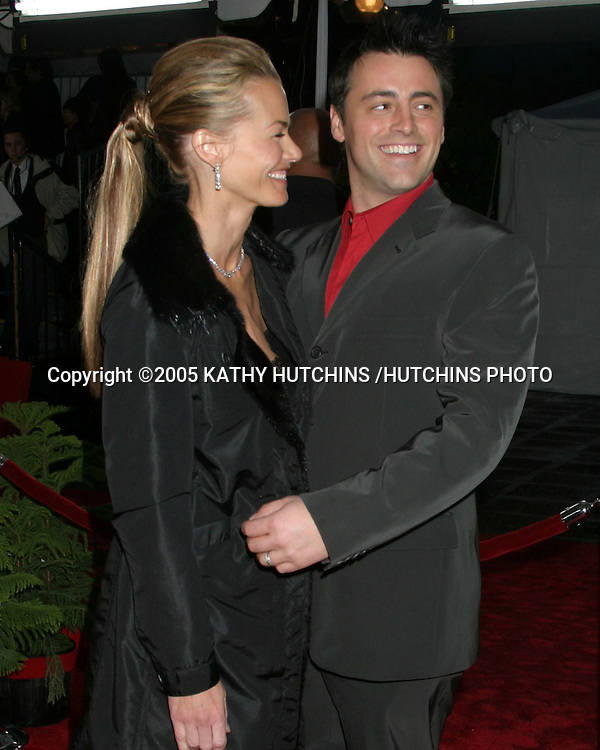 ©2005 KATHY HUTCHINS /HUTCHINS PHOTO.PEOPLE'S CHOICE AWARDS.PASADENA, CA.JANUARY 9, 2005..MATT LE BLANC.WIFE