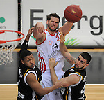 Basketball 1. Bundesliga 2011/2012, Walter Tigers Tuebingen - FC Bayern Muenchen