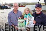 Portmagee all 'Set' for 23rd Annual Set Dancing Weekend Friday 2nd - 4th May with Workshops, Sean Nós Dancing, Music and plenty of crac, pictured here l-r; Gerard Kennedy, Beryl & Julian Stracey.