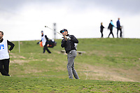 Sebastian Heisele (GER) on the 4th fairway during Round 1 of the Open de Espana 2018 at Centro Nacional de Golf on Thursday 12th April 2018.<br /> Picture:  Thos Caffrey / www.golffile.ie<br /> <br /> All photo usage must carry mandatory copyright credit (&copy; Golffile | Thos Caffrey)